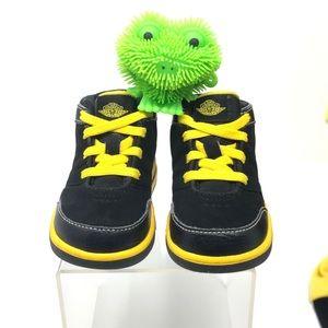 Retro Air Jordan Yellow & Black Toddler 5c